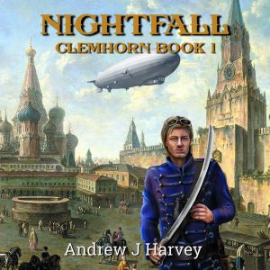 Nightfall - square audiobook cover